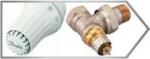 Радиаторные комплекты Danfoss для подключения отопительного прибора в двухтрубной системе